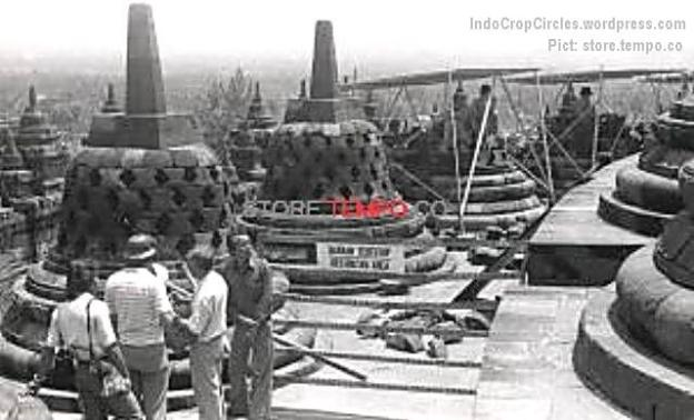 Restorasi Candi Borobudur Setelah Peledakan (tempo.co)