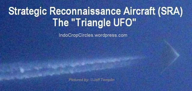 Spyplane triangle uFO Strategic Reconnaissance Aircraft (SRA)