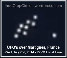 ufo over Martigues France Perancis zoomed 2-7-2014