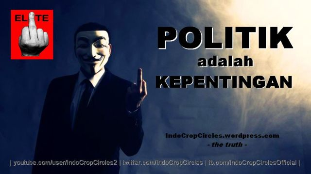 anonymous politik adalah kepentingan