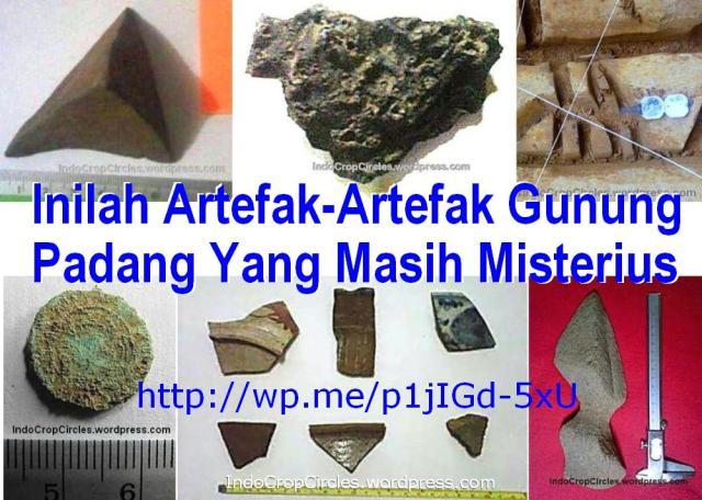 Artefak Gunung-Padang Java Indonesia banner