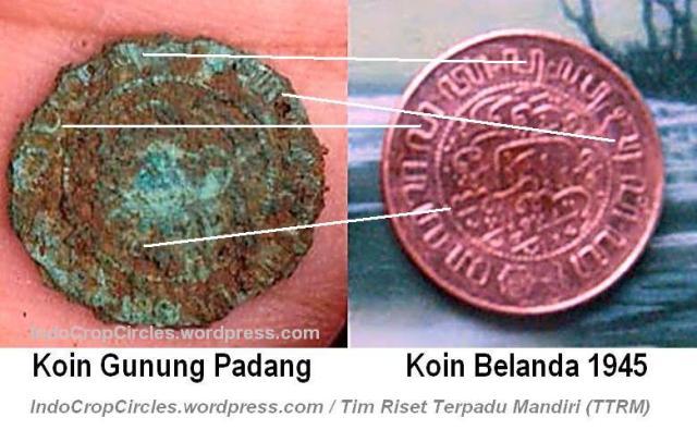 Gunung-Padang-Artefak-koin-gunung-padang vs koin belanda 1945 02 by Lutfi Yondri