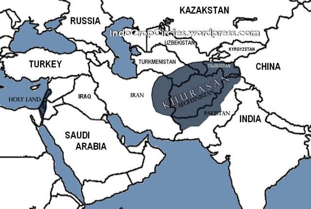 Khurasan map peta
