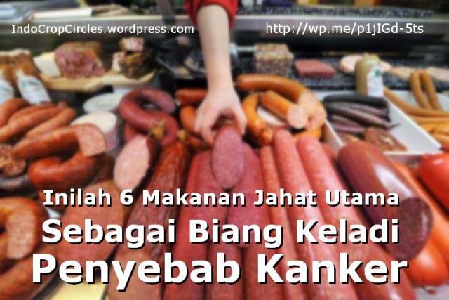 makanan penyebab kanker header