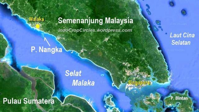 pulau nangka malaysia map peta