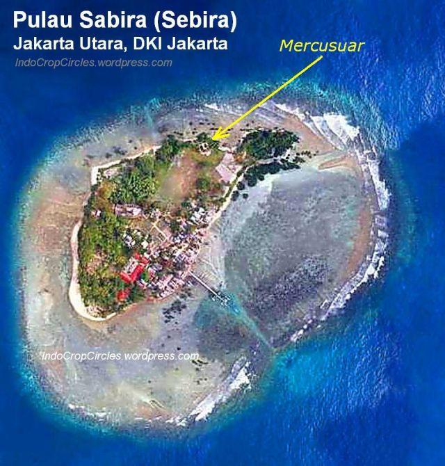 pulau sabira sebira Jakarta-foto-udara