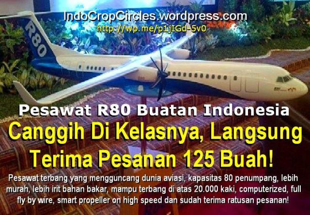 Pesawat Pertama Buatan Indonesia R80 Pesawat Buatan Indonesia
