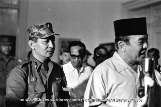 suharto dan sukarno 1966