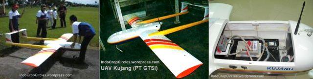 UAV KUJANG diproduksi oleh PT. GTSI