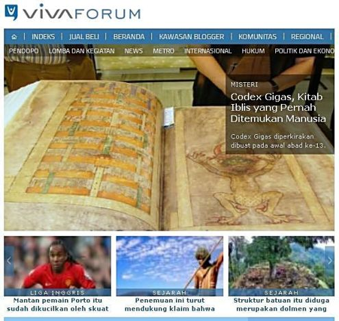 vivanews codex gigas