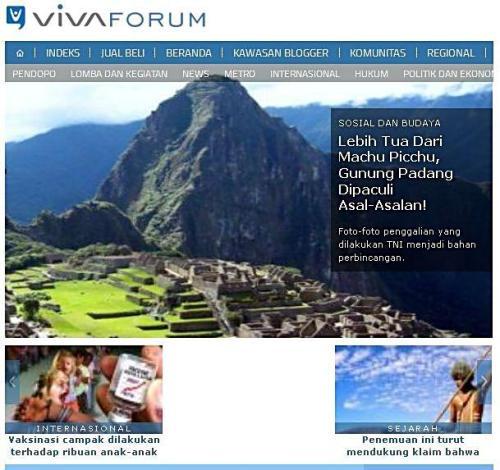 vivanews gunung padang machu picchu