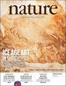 cover nature magazine Maros cave sulawesi indonesia