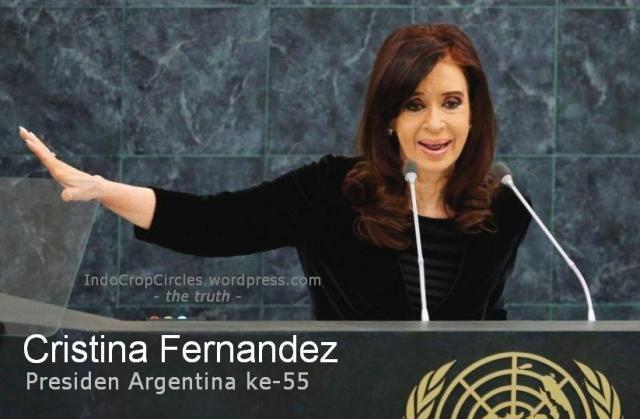Cristina Fernandez presiden Argentina