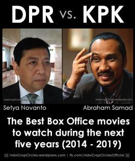 DPR vs KPK vs DPR Setya Novanto Abraham Samad