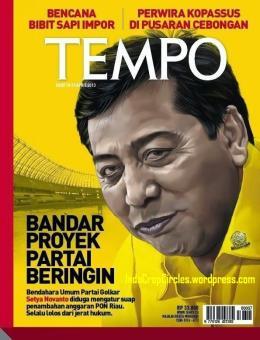 setya novanto majalah tempo 2