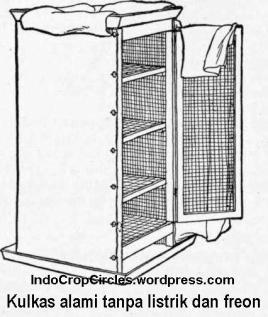 kulkas tanpa listrik dan freon iceless-fridge