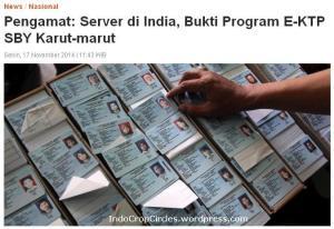 server e-ktp di india