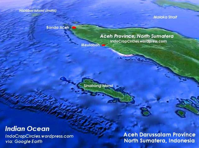 aceh satellite view