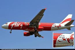 AirAsia PK-AXC-AirAsia-Airbus-A320-200