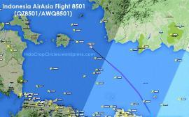 AirAsia QZ 8501 PK-AXC missing rute 04