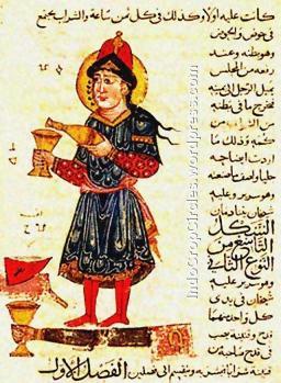 Al-Djazari_automate_verseur_de_vin