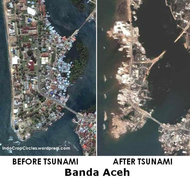 banda aceh before after tsunami