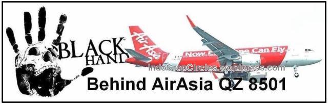 blackhand behind AirAsia QZ8501