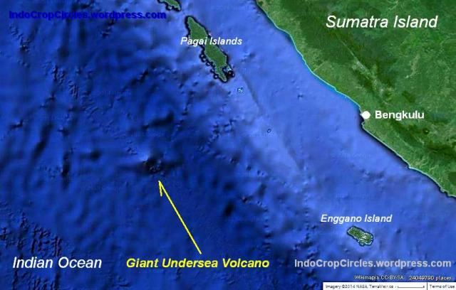 Gunung api bawah laut Bengkulu 01