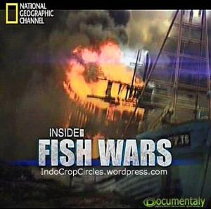 Inside Fish Wars dvd cd