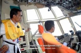 Jokowi joko widodo lihat pencarian dan evakuasi AirAsia QA 8501