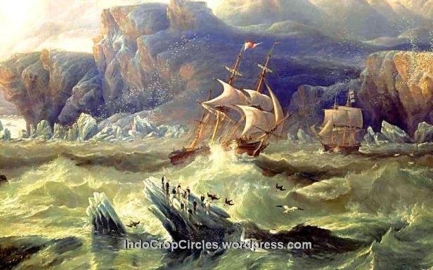 kapal hms karam di kutub