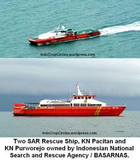 Kapal KN PACITAN KN PURWOREJO BASARNAS ships