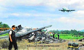 KNKT menyelidiki pesawat jatuh