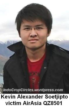 Soetjipto, Kevin Alexander victim AirAsia QZ8501