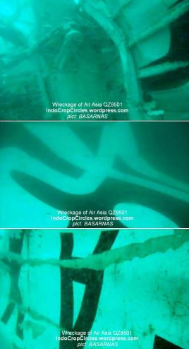 tail debris puing serpihan ekor Air Asia A318-321 (PK-AXC) blackbox found