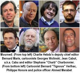 8 dead Charlie Hebdo