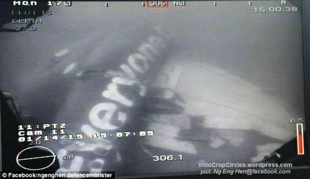 body Air Asia QZ8501 found ditemukan 03
