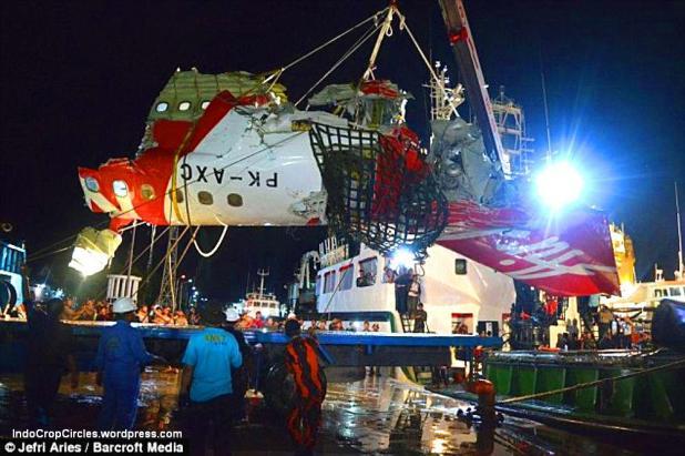 body Air Asia QZ8501 found ditemukan 05