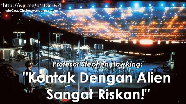contact with alien aliens kontak banner
