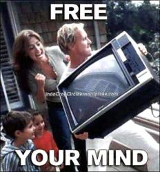 free your mind of electronics, they are poisoning