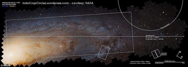 Hubble's Andromeda Galaxy Image Shows Over 100 Million Stars 02