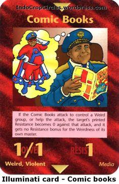 Illuminati card comic books
