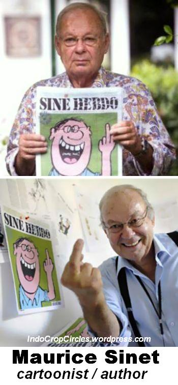 """Kartunis yang pernah mengisi kolom pada majalah """"l'affaire sine"""