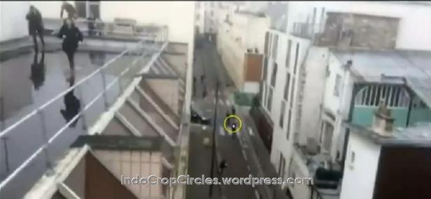 paris shooting on the roof