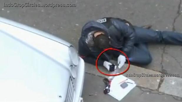 paris shooting police texting