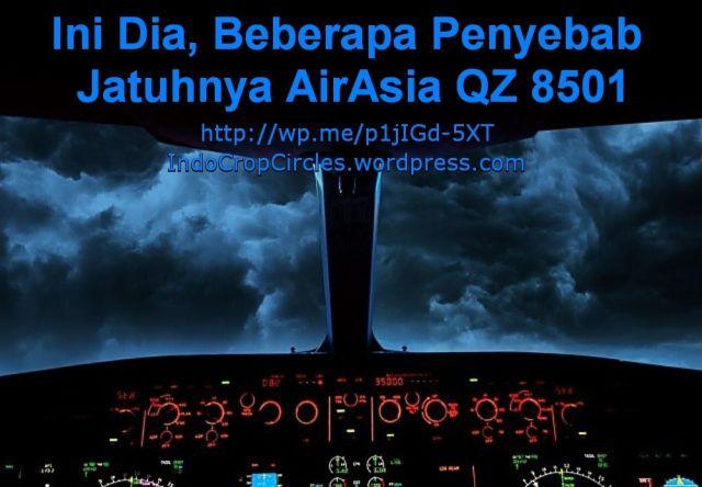 penyebab jatuhnya Air Asia QZ8501 banner