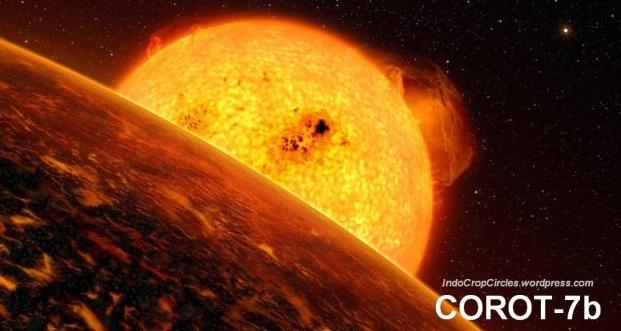 Corot-7b Planet Hujan Batu
