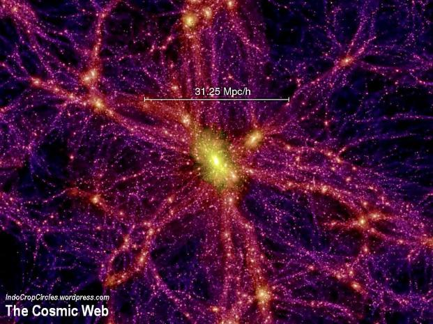 cosmic web universe galaxy galaxies 01