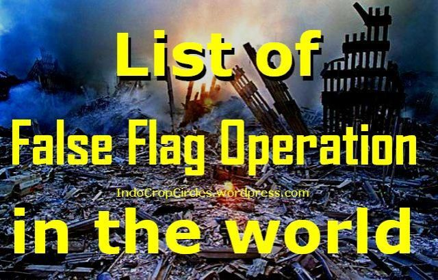 false flag operation bendera palsu banner