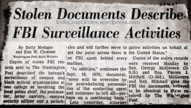 FBI Cointelpro Campaign